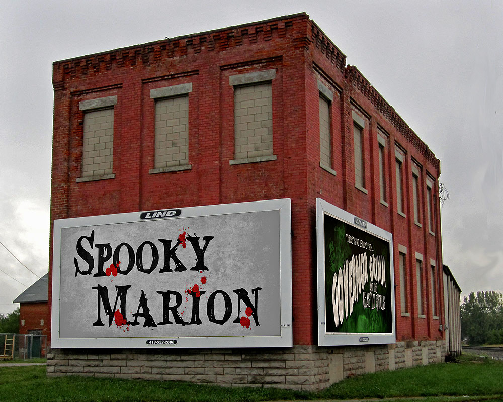 This building, now used for storage, is one of the last remaining buildings which were once part of the Marion Brewing and Bottling Company.