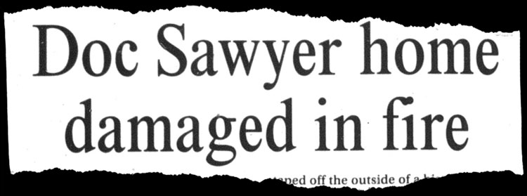 Marion Star Headline, Sawyer Home on Bellefontaine