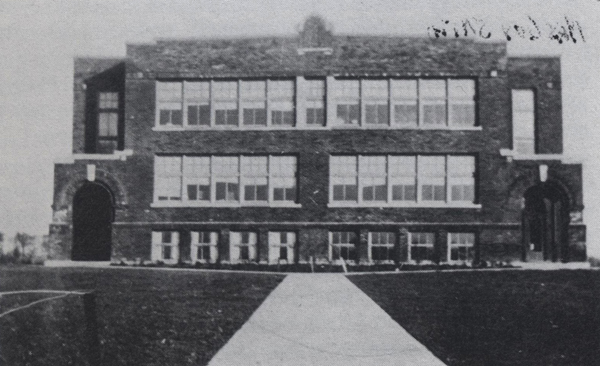 New Bloomington School was constructed in 1916. The school became part of the Elgin Consolidated School District in 1960. In 1975 the building was no longer being used for instruction but was